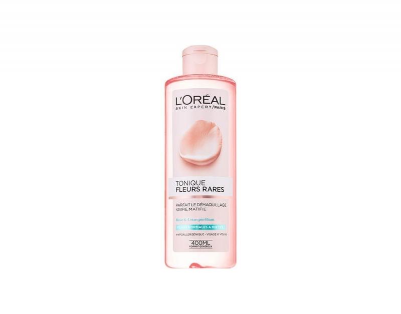 Swatch Tonique douceur aux fleurs rares, L'Oréal Paris