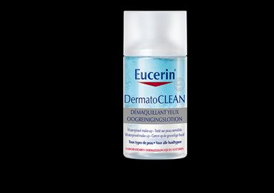 Démaquillant yeux DERMATOCLEAN, Eucerin : lulu moon aime !