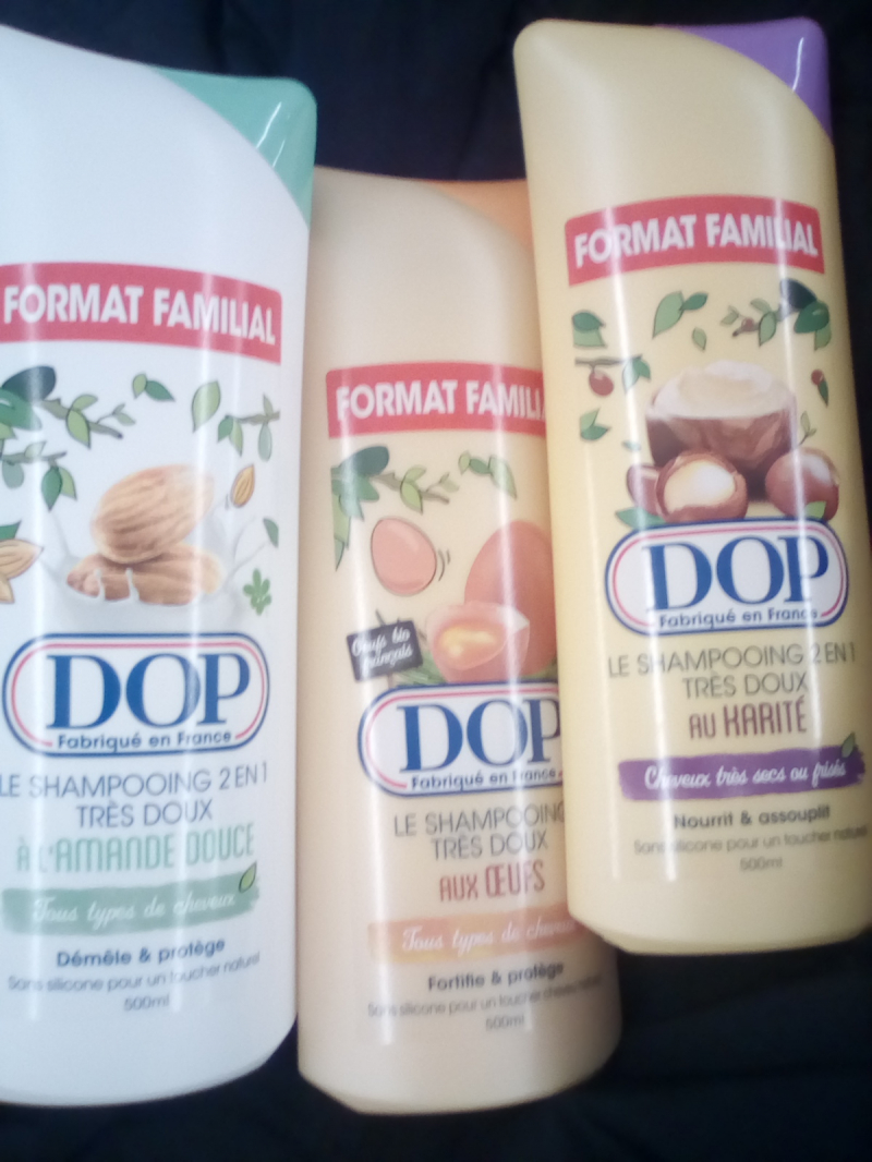 Swatch Le shampoing très doux aux oeufs, Dop