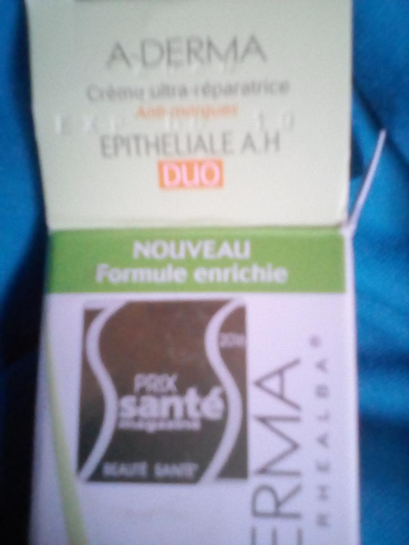 Swatch Crème ultra-réparatrice, A-Derma