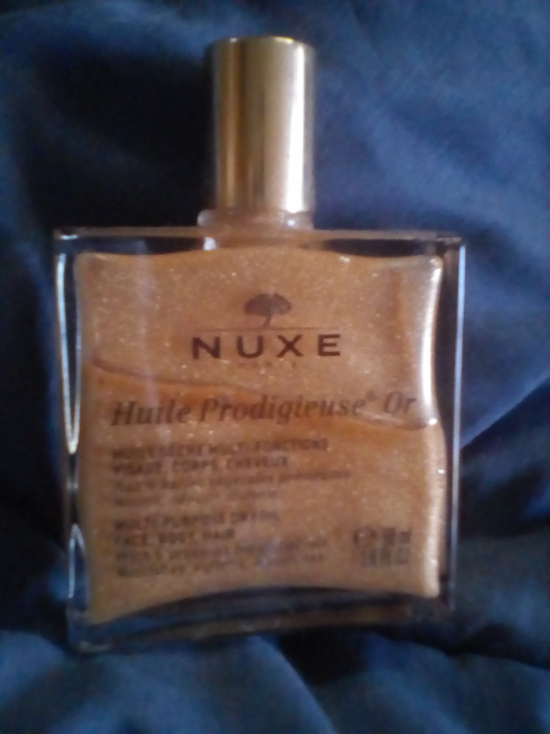 Swatch Huile Prodigieuse Or - Huile Sèche multi-usages, Nuxe