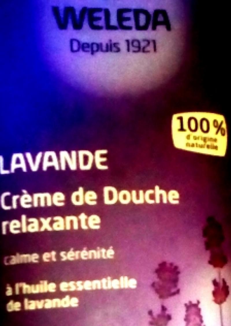 Swatch Crème de Douche à la Lavande, Weleda