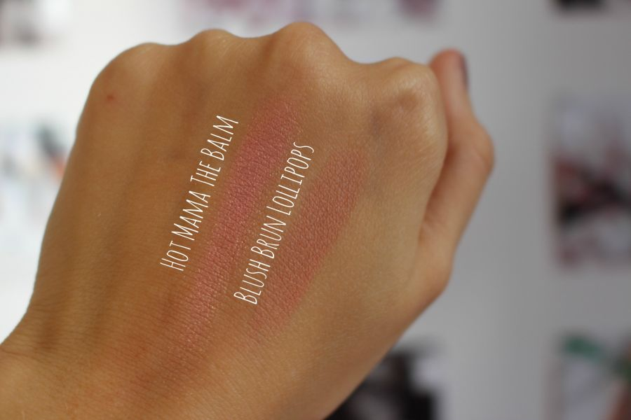 Swatch Hot Mama, The Balm