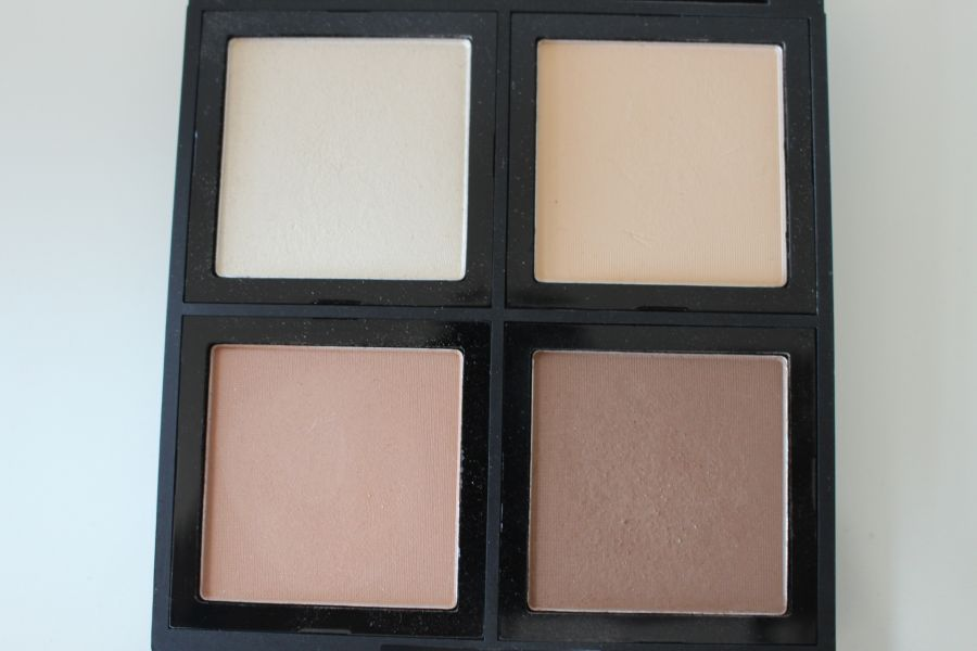 Swatch Palette Contouring Studio Light, Eyeslipsface