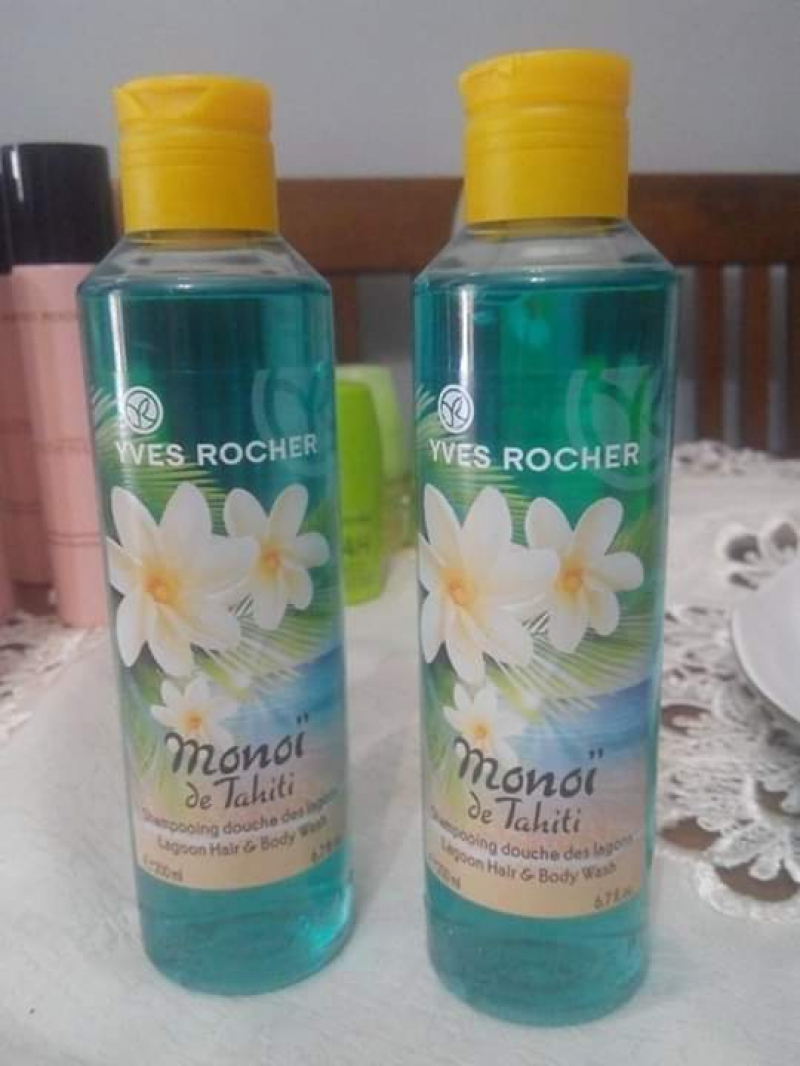 Swatch Shampooing douche des lagons, Yves Rocher