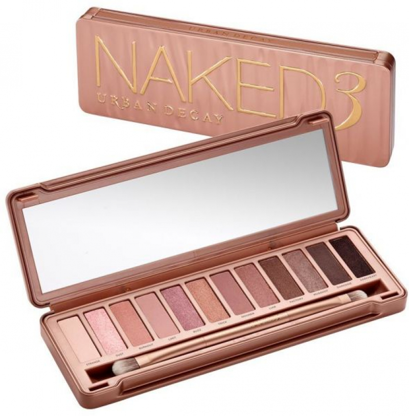Swatch Naked Palette, Urban Decay