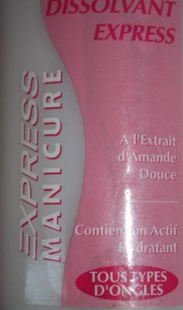 Swatch Dissolvant Douceur, Gemey-Maybelline