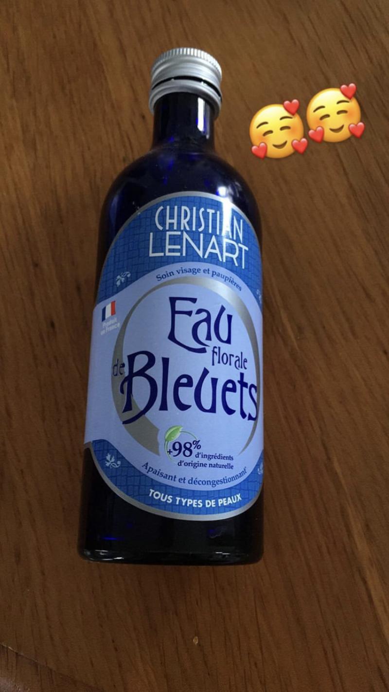 Swatch Eau florale de bleuets, Christian Lenart