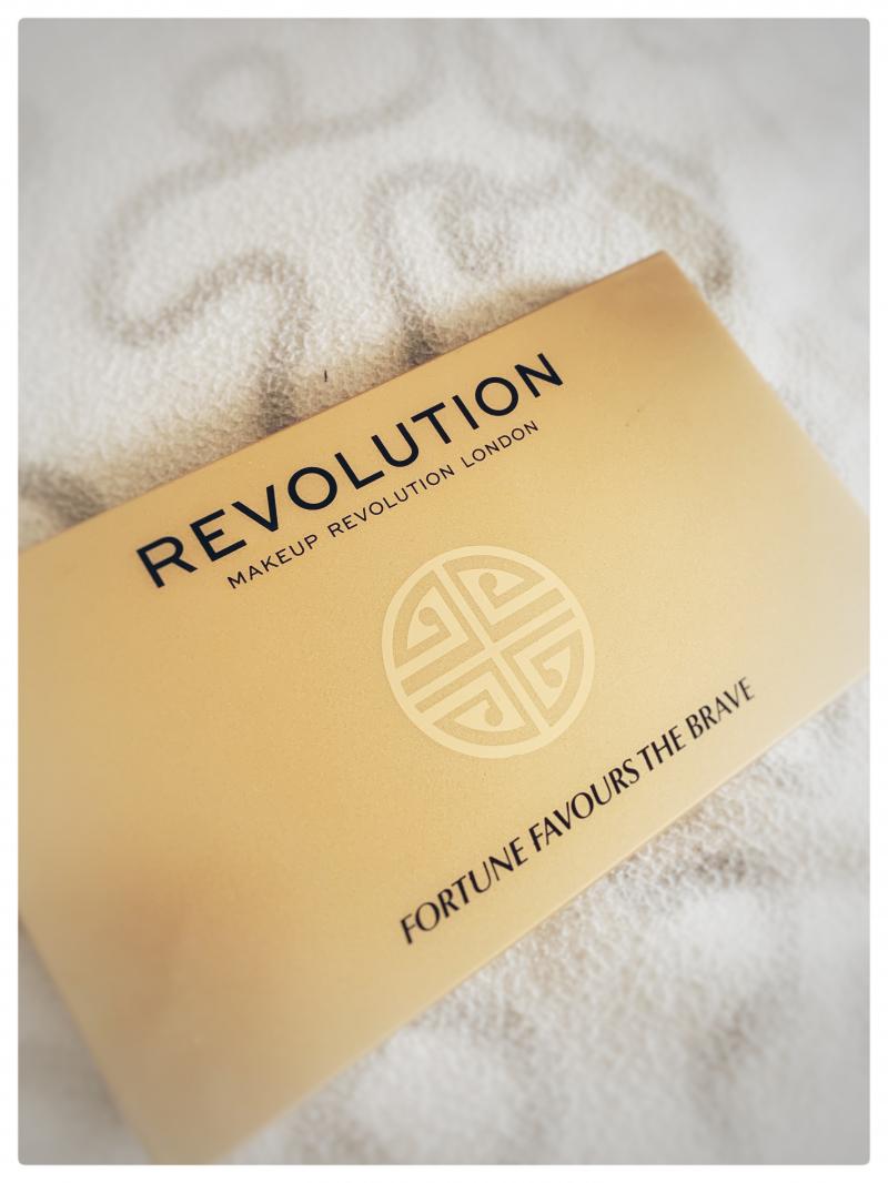 Swatch Palette Fortune Favours the Brave, Makeup Revolution