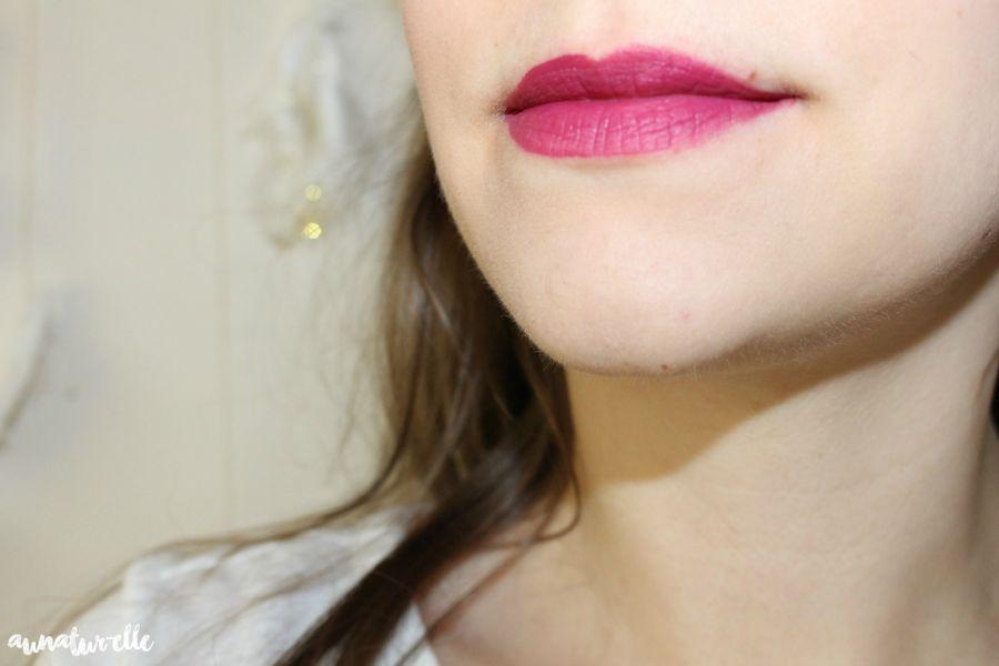 Swatch Rouge velouté sans transfert - Cream lip stain, Sephora