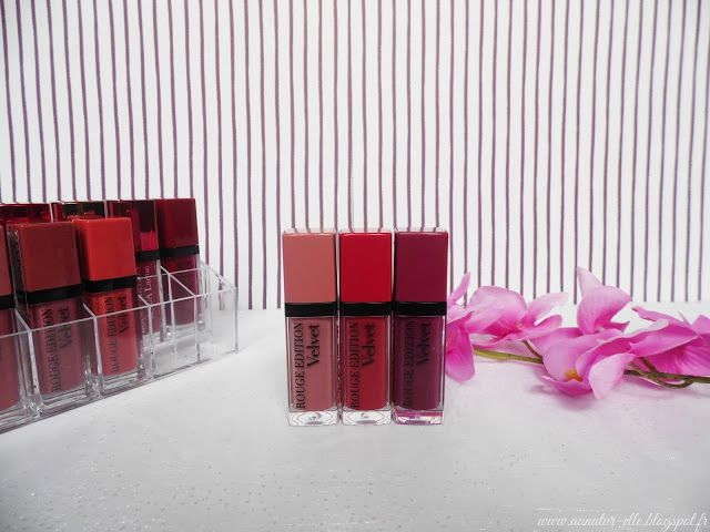 Swatch Rouge Edition Velvet, Bourjois