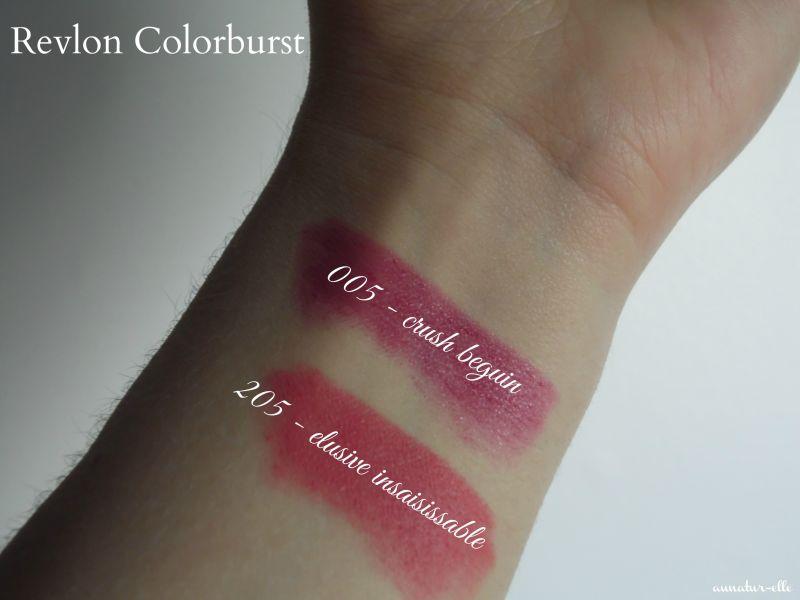 Swatch Colorburst Baume Matte Balm, Revlon