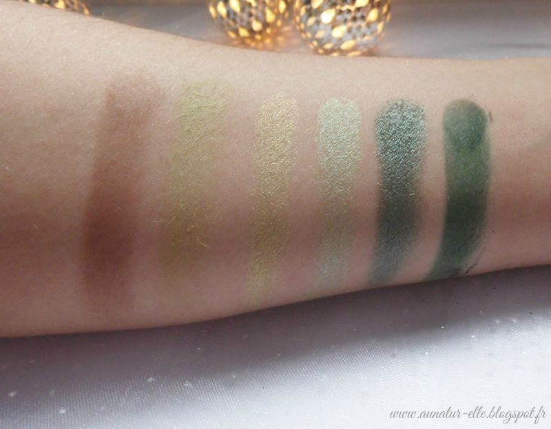 Swatch I-Divine Palette Garden of Eden, Sleek MakeUP