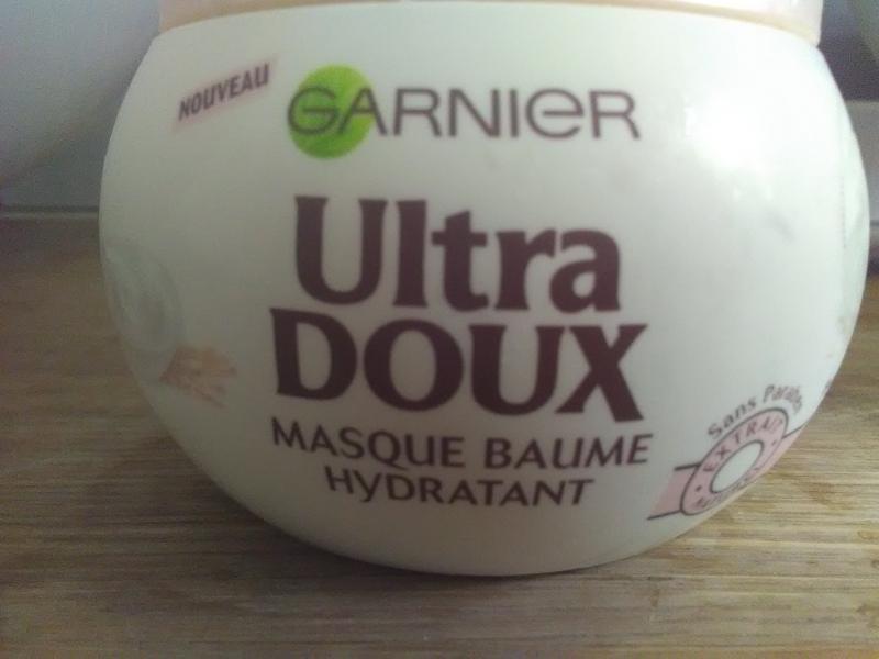 Swatch Masque Baume Hydratant Délicatesse d'Avoine Ultra Doux, Garnier