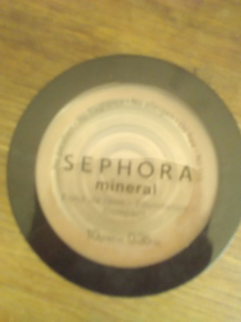 avis fond de teint mineral compact sephora maquillage. Black Bedroom Furniture Sets. Home Design Ideas