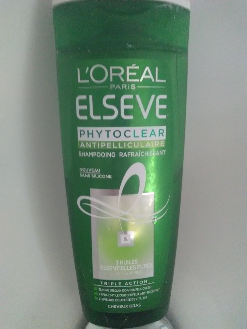 Swatch Elseve phytoclear, L'Oréal Paris