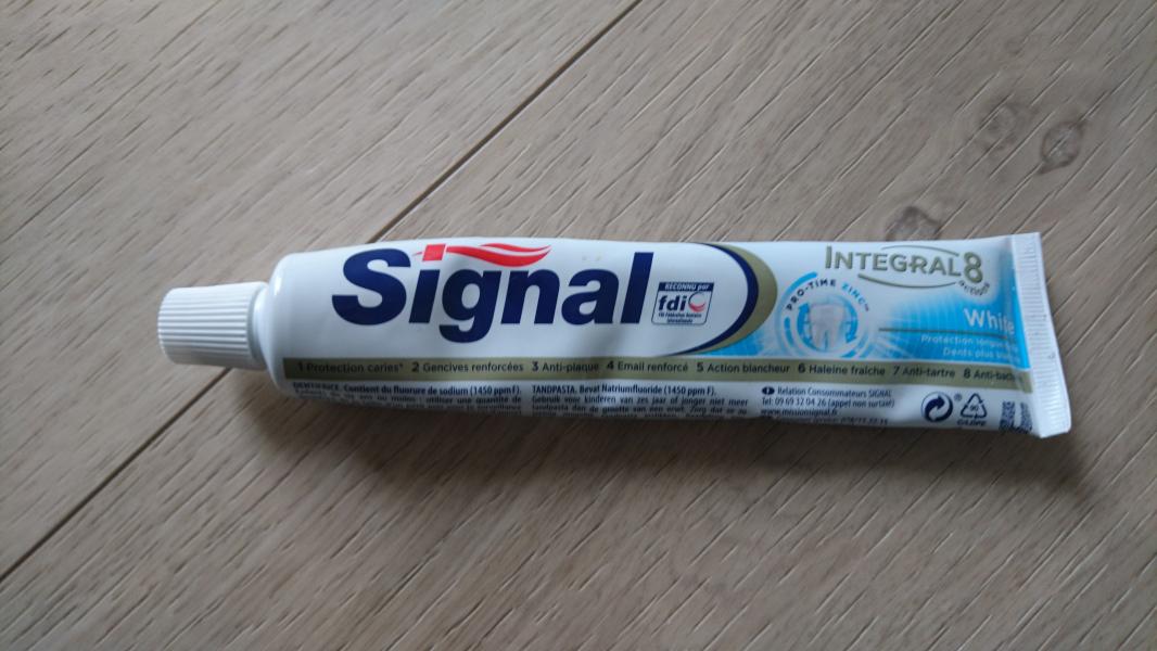 Swatch Dentifrice Intégral 8, Signal