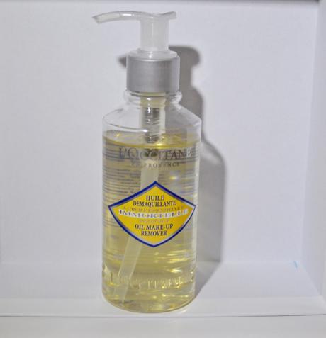 Swatch Huile démaquillante à huile essentielle immortelle, L'Occitane