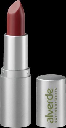 Swatch Rouge à lèvres Color & Care, Alverde