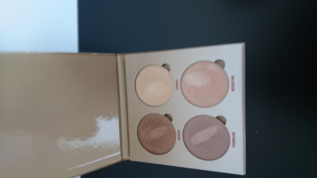 Swatch Glow Kit Sun Dipped - Palette d'enlumineurs, Anastasia Beverly Hills