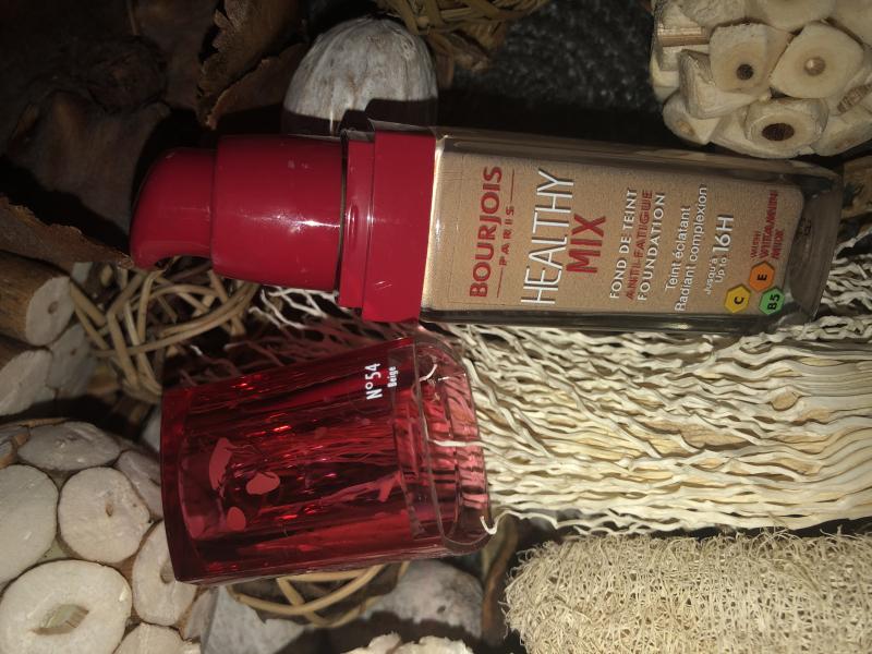 Swatch Healthy Mix Fond de Teint Anti Fatigue, Bourjois