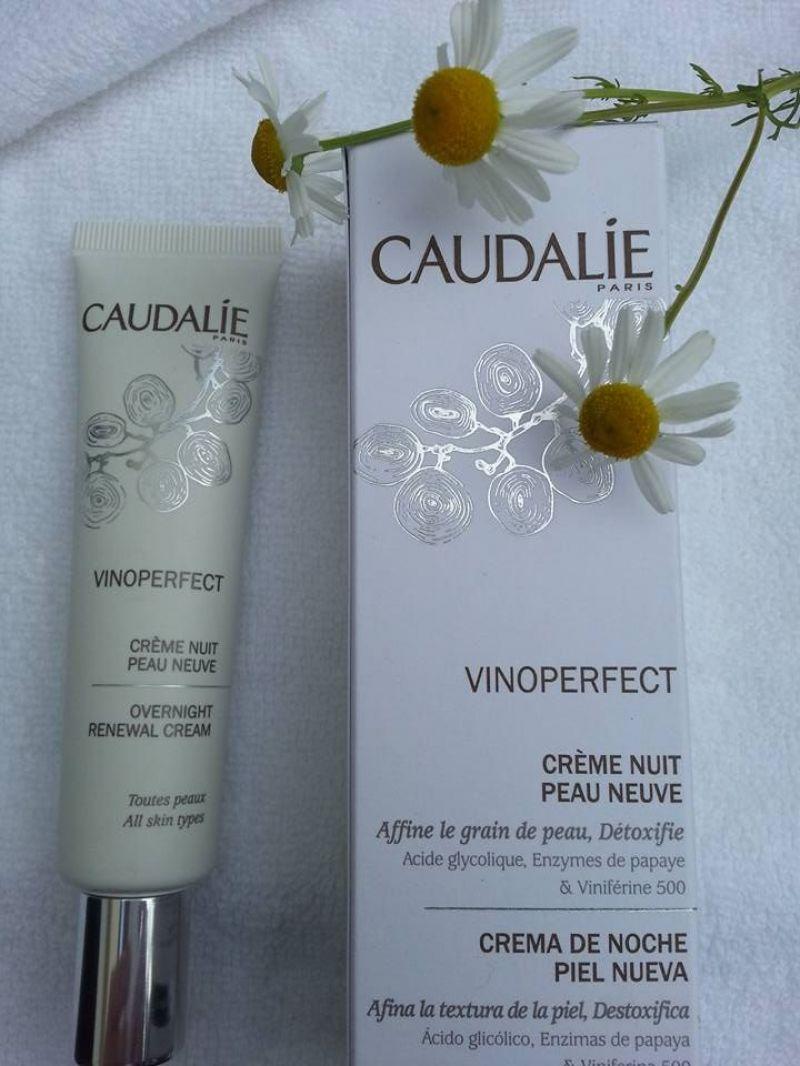 Swatch Crème Nuit Peau Neuve Vinoperfect, Caudalie