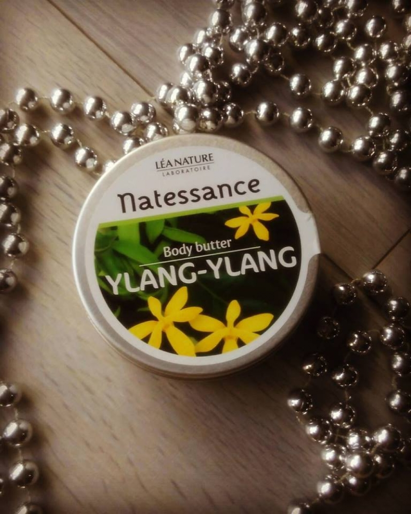 Swatch Body Butter Ylang-Ylang, Natessance