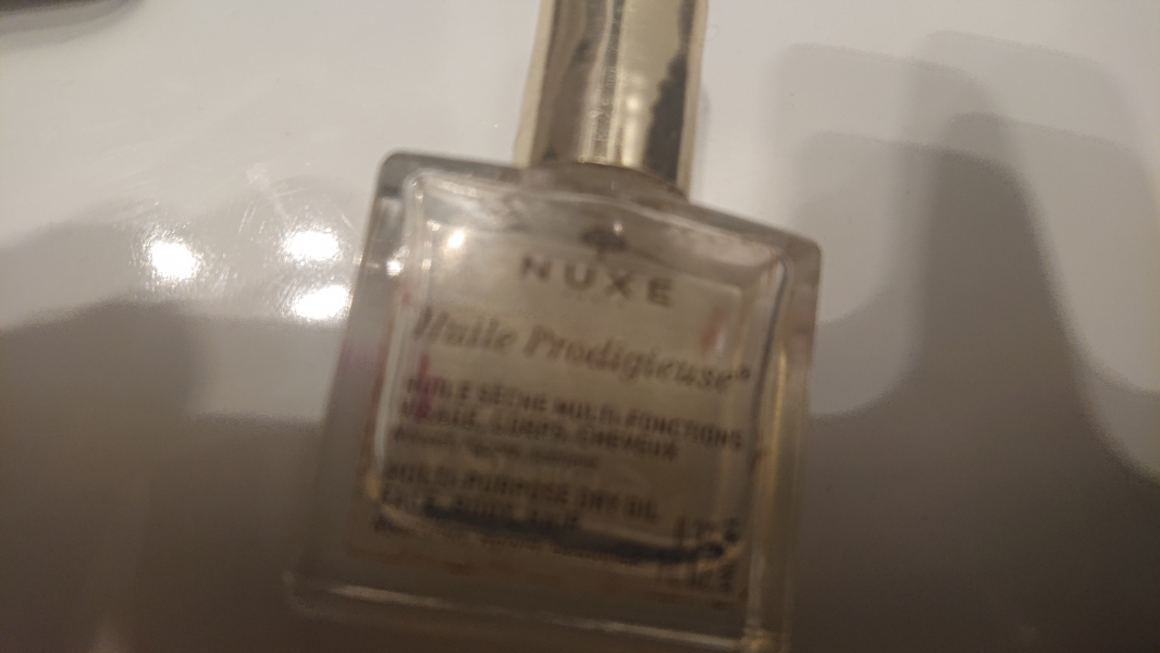 Swatch Huile Prodigieuse - Huile Sèche multi-fonctions, Nuxe