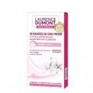 20 Bandes de Cire Froide hypoallergéniques, Laurence Dumont - Accessoires - Cire, crème dépilatoire, bandes de cire
