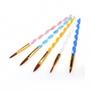 Pinceaux Acrylique en lot de 5, Oceanmap - Ongles - Accessoires nail art et manucure