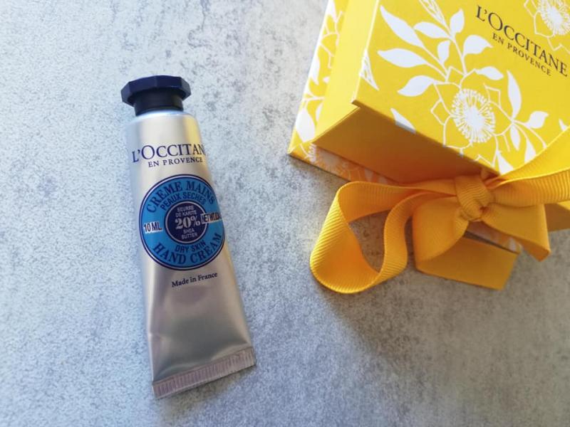 Swatch Crème Mains Karité, L'Occitane