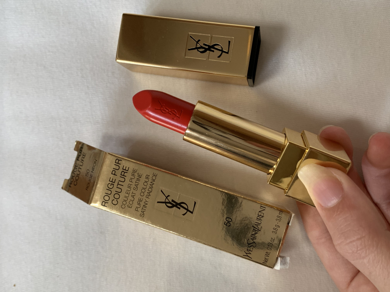 Swatch Rouge pur couture, Yves Saint Laurent