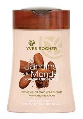Gel Douche Fève de Cacao d'Afrique - Les Jardins du Monde, Yves Rocher - Infos et avis