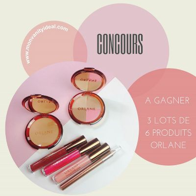 concours maquillage Orlane