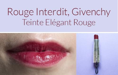 3 rouges l vres indestructibles pour les f tes for Givenchy rouge miroir