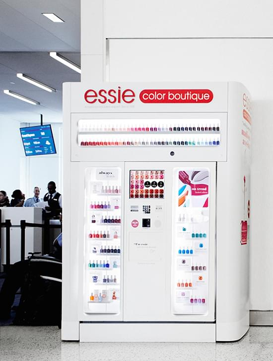 Distributeur Essie Colour Boutique