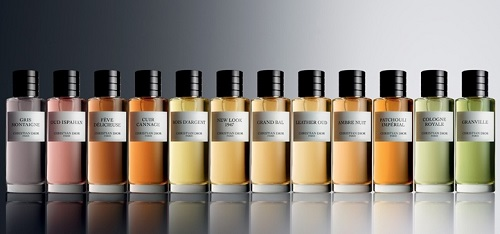 collections de parfums Dior