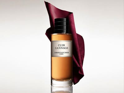 collection de parfums Dior cuir Cannage