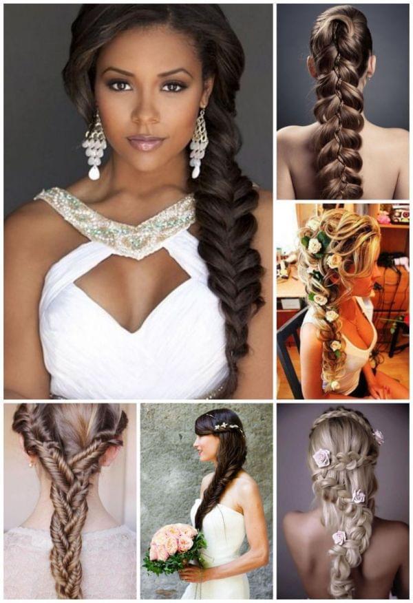 Une coiffure de mariage naturelle  cheveux lâchés