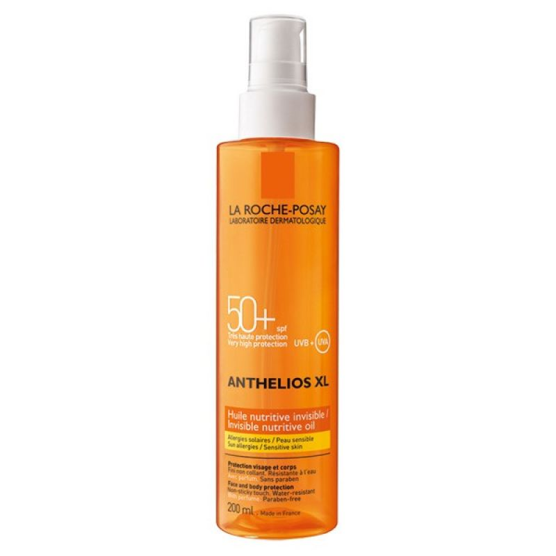 Anthelios XL Huile Nutritive Invisible SPF 50 - La Roche-Posay