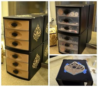 diy des rangements maquillage faire soi m me. Black Bedroom Furniture Sets. Home Design Ideas
