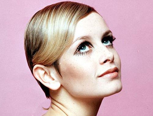Twiggy style retro années 60. Twiggy maquillage années 60