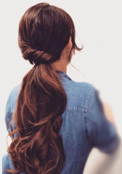 Queue De Cheval Hairstyle : Les 10 plus jolies queues de cheval