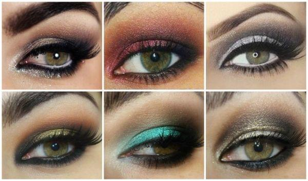Maquillage yeux marrons verts - Maquillage de soiree yeux marron ...