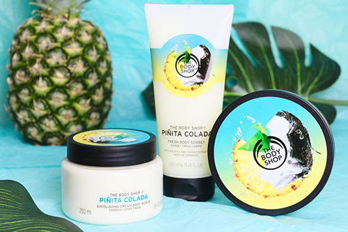 pinita colada de the body shop