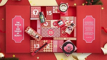Calendrier Deluxe The Body Shop