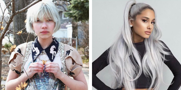 silver hair travi gevinson