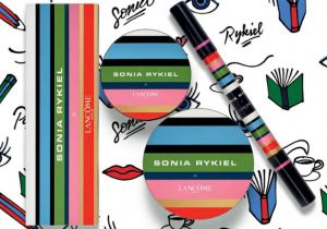 Packaging de la collection de la maison Lancôme et Sonia Rykiel