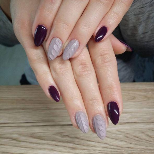 Cosy nail  comment marier ses ongles avec ses pulls d\u0027hiver