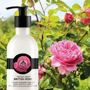 cadeau The Body Shop crème rose